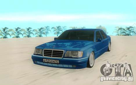 Mercedes-Benz E500 Stock для GTA San Andreas