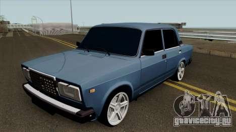 ВАЗ 2107 Без номеров для GTA San Andreas