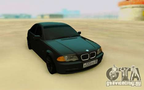 BMW E46 HQ для GTA San Andreas