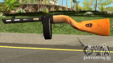PPSH-41 LowPoly для GTA San Andreas
