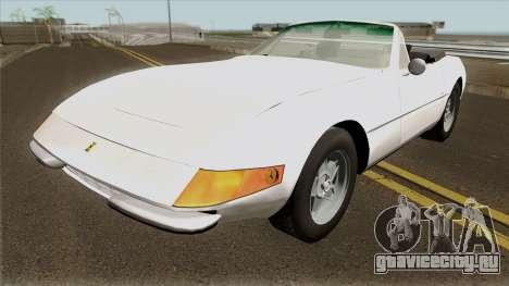 Ferrari 365 GTS для GTA San Andreas