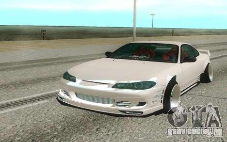 Nissan Silvia S15 White для GTA San Andreas