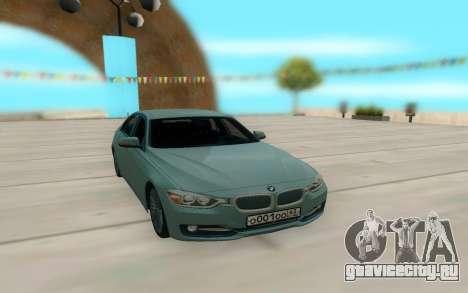 BMW 335i для GTA San Andreas вид слева