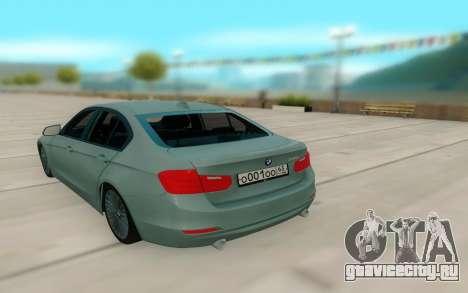 BMW 335i для GTA San Andreas вид справа