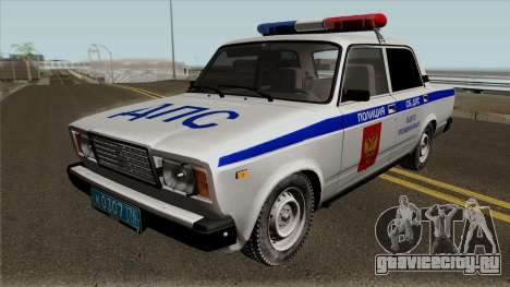 ВАЗ-2107 Полиция Города Ярославль для GTA San Andreas