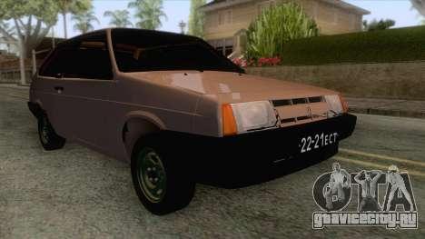 ВАЗ 2108 Короткокрылая для GTA San Andreas