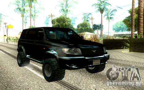 UAZ Patriot Offroad для GTA San Andreas