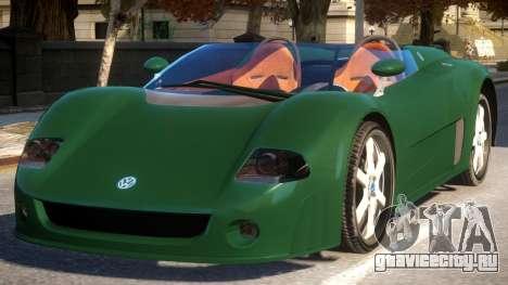 Volkswagen W12 Concept для GTA 4