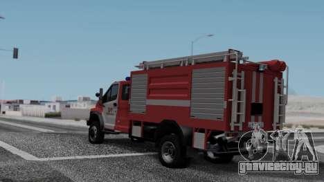 GAZon Next Пожарный для GTA San Andreas