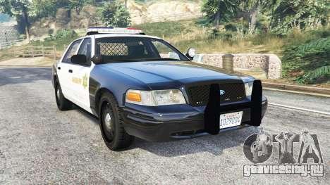 Ford Crown Victoria Sheriff CVPI [replace] для GTA 5