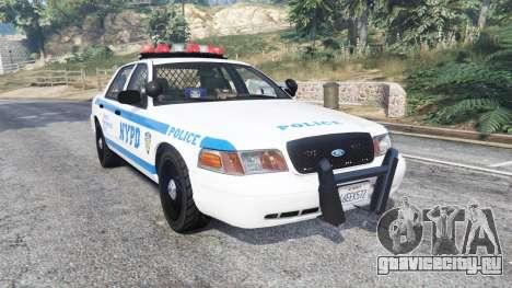 Ford Crown Victoria NYPD CVPI v1.1 [replace] для GTA 5