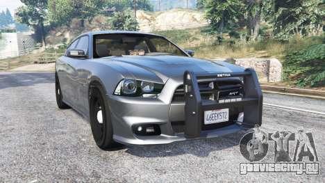 Dodge Charger SRT8 (LD) Police v1.2 [replace] для GTA 5
