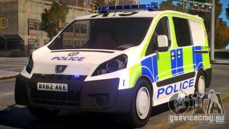 Police Peugeot Expert Cell Van для GTA 4