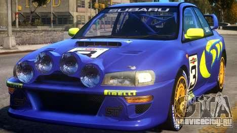 1998 Subaru Impreza WRC - PURPLE для GTA 4