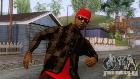 Crips & Bloods Ballas Skin 3 для GTA San Andreas