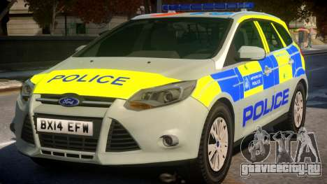 Police Ford Focus Estate IRV TFL Version для GTA 4