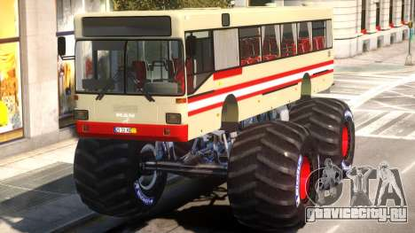 Bus Monster Truck V1 для GTA 4