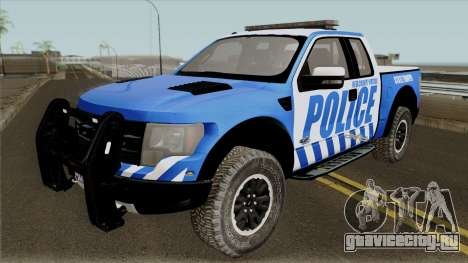Ford F-150 Raptor 2016 Red County Police для GTA San Andreas