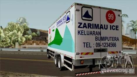 DFT 30 Zarimau Ice Tube для GTA San Andreas