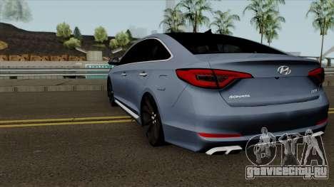 Hyundai Sonata 2017 для GTA San Andreas