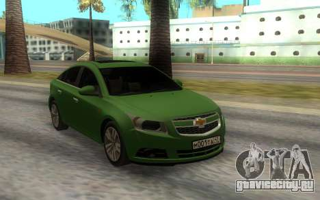 Chevrolet Cruze Green для GTA San Andreas