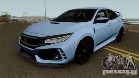 Honda Civic Type R 2017 Hatchback для GTA San Andreas