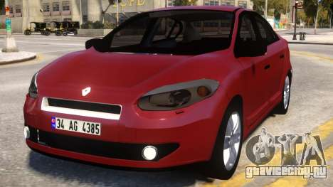 Renault Fluence Wine для GTA 4