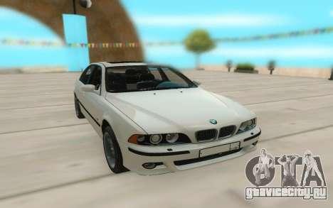 BMW М5 Е39 для GTA San Andreas