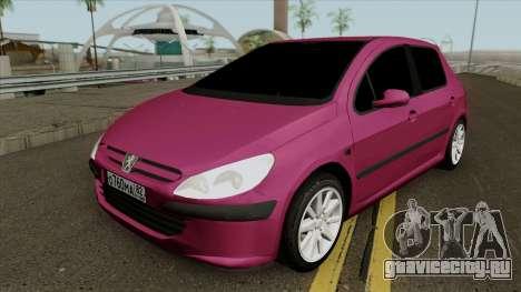 Peugeot 307 Hatchback для GTA San Andreas