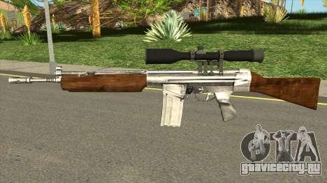 HK G3 Wood для GTA San Andreas