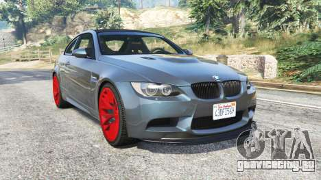 BMW M3 GTS (E92) 2010 real taillight [add-on] для GTA 5