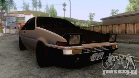 Toyota AE86 Coupe Touge Style для GTA San Andreas