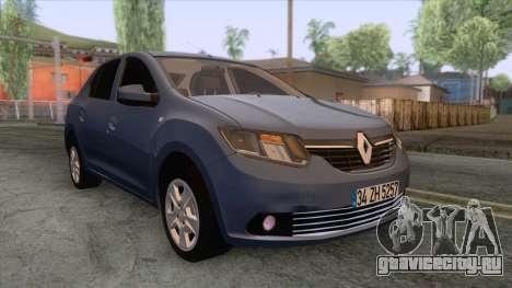 Renault Symbol 2013 Touch для GTA San Andreas