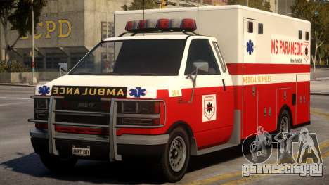 Ambulance Real New York для GTA 4