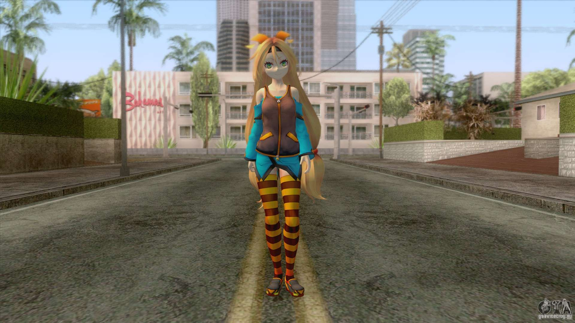 Unity Chan Skin для GTA San Andreas