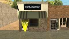 El Quebrados Kuala Terengganu Rimau Barbershop для GTA San Andreas