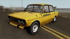 VAZ 2106 SA Style Taxi для GTA San Andreas