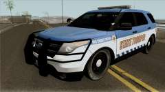 Ford Explorer 2016 Red County Police для GTA San Andreas