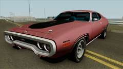 Plymouth GTX 1972 WineRed Coupe для GTA San Andreas