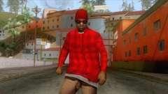 Crips & Bloods Ballas Skin 5 для GTA San Andreas