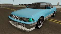 Toyota Mark II 2.5GT TwinTurbo (JZX81) Sedan для GTA San Andreas
