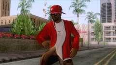 Crips & Bloods Ballas Skin 7 для GTA San Andreas