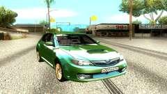 Subaru Impreza WRX STI Hatchback для GTA San Andreas