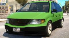 Minivan to Dodge Grand Caravan для GTA 4