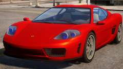 Turismo to Ferrari f430 для GTA 4