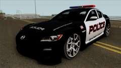 Mazda RX-8 Police SCPD 2011 для GTA San Andreas