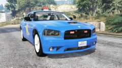 Dodge Charger Michigan State Police [replace] для GTA 5