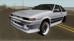 Toyota Sprinter Trueno AE86 Low для GTA San Andreas