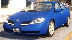 Nissan Primera 2002 v.1.0 для GTA 4