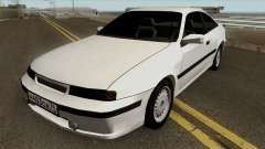 Opel Calibra White для GTA San Andreas